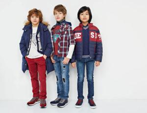 competitive price d22e6 c442e Guess Kids collezione Fall Winter 2018 - Live Showroom